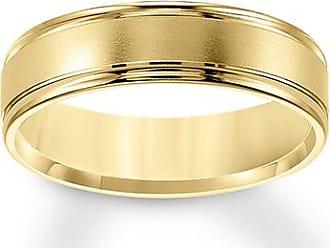 Kay Jewelers Brushed Wedding Band 10K Yellow Gold 6mm