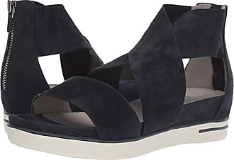 Eileen Fisher Sport (Midnight Suede) Womens Sandals