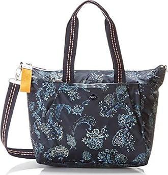 6455dea4a26 Oilily Dames Groovy Handbag aan Tote, 18 x 27 x 44 cm - blauw