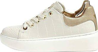 Guess Womens Shoes Sneakers with Platform FL5BRAPEL12 Cream Size 35 Cream