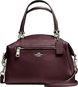9dd356d7ebb3 Coach Prairie Satchel In Polished Pebble Leather