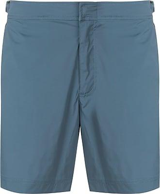 Orlebar Brown Camisa com fechamento oculto - Azul