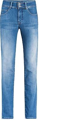 819b9d89d65 Salsa Pantalones Vaqueros Secret tiro alto y lavado medio