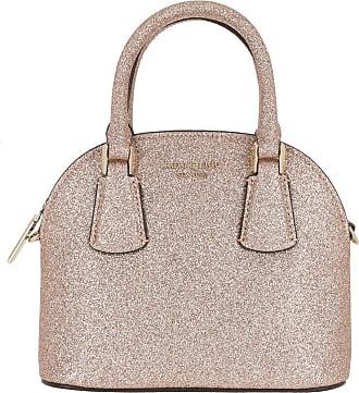 Kate Spade New York Mini Dome Satchel Bag Pink Champagne Umhängetasche pink