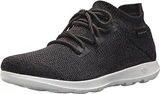Skechers Damen Go Walk Lite Saavy Sneaker, Grau (Grey