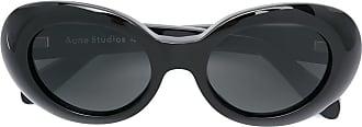 Acne Studios Mustang oval sunglasses - Black