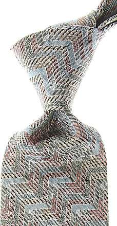 Missoni Ties On Sale, Light Green, Silk, 2017, one size