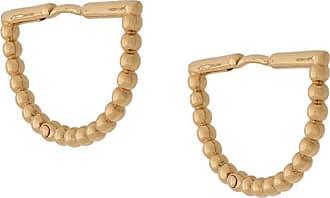 Astley Clarke Par de brincos Stilla Arc - Dourado