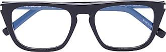 Saint Laurent Eyewear Armação de óculos quadrada - Preto