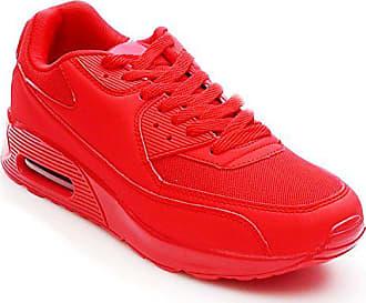 ee654f1b38300d King Of Shoes Trendige Damen Schnür Sneakers Laufschuhe Sport Fitness  Freizeit Turnschuhe D9 (38