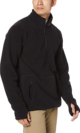 Volcom Mens Polartec Base Layer 1/2 Zip Up Fleece - Black - S