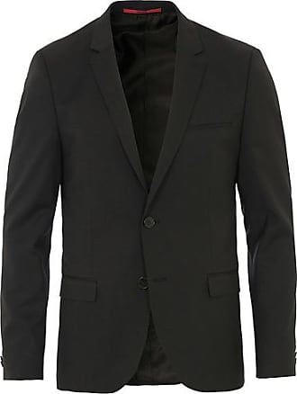 HUGO BOSS AlisterS Stretch Wool Blazer Black f092ec9255038
