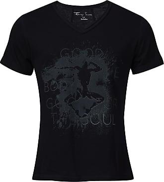 BALLETTO Camiseta Recorte Cotone Preto - Mulher - PP BR