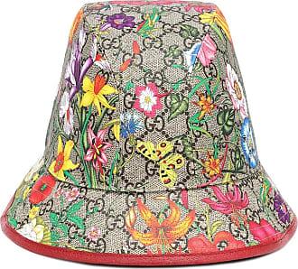 Gucci Cappello da pescatore a stampa GG Flora