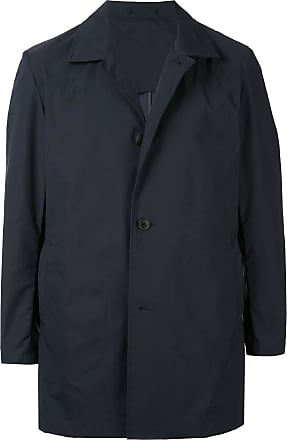 Kent & Curwen packable mac coat - Blue