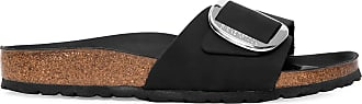 Birkenstock Sandália Madrid Big Buckle - Preto