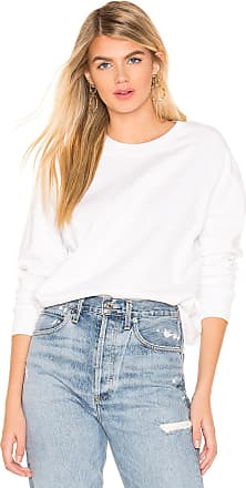 Hanes x Karla The Crew Sweatshirt in White