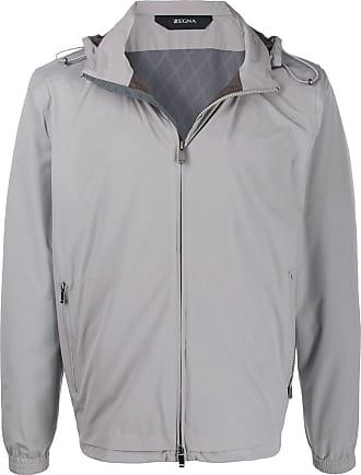 Ermenegildo Zegna Giacca con cappuccio - Di colore grigio