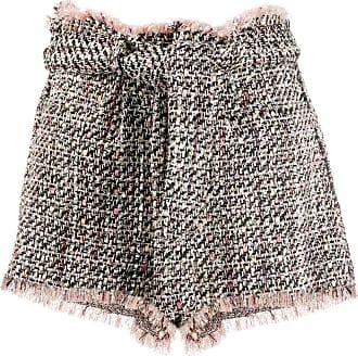 Iro Short Vany de tweed - Preto