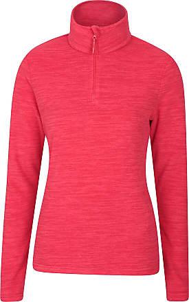 Lightweight for Walking Winter Sweater Warm Travelling Half Zip Pullover Hiking Mountain Warehouse Beta Contrast Mens Zip-Neck Top Bonded Fleece Sweatshirt