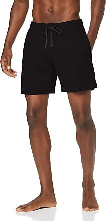 Schiesser Mens Mix & Relax Long Boxer Pyjama Bottoms, Black (Black 000), XXX-Large (Size: 058)