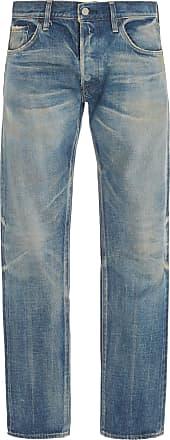 Fabric Brand & Co. Shima Mid-Rise Slim-Leg Jeans