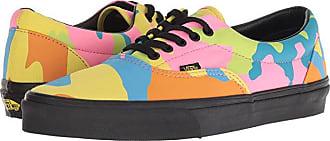 Vans Era ((Neon Camo) Multi Camo/Black) Athletic Shoes