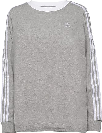 Gray T-Shirt Long Sleeves Genser  Signature  Bluser - Dameklær er billig