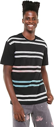 Globe Camiseta Globe Listrada Preta