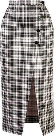 AlexaChung high-waist plaid skirt - Multicolour