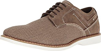 Steve Madden Mens Kershaw Oxford, Taupe, 7.5 M US