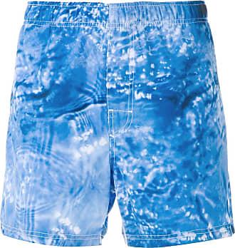 Osklen printed shorts - Blue
