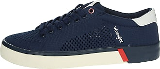 Wrangler frisco men sneaker perforated fabric - 42 - blu