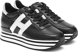 Hogan: Black Shoes / Footwear now up to