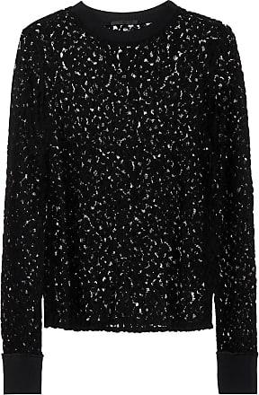 Helmut Lang Lace cotton-blend top