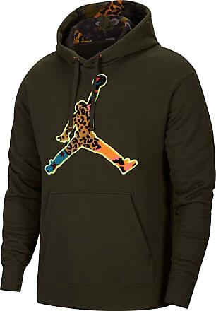 Nike Jordan Hoodie Herren in sequoia, Größe XXL