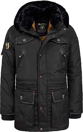 Lyle /& Scott Mens Zip Fleece Lined Jacket Warm Hooded Peak Coat Camo Grey Black