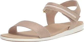 Aerosoles Womens Night Watch Sandal, Gold Fabric, 10.5 M US