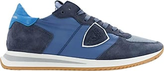 Philippe Model Fashion Man TZLUW033 Blue Suede Sneakers | Spring Summer 20