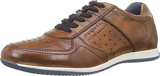 Bugatti Mens 311450073500 Low-Top Sneakers, Brown (Cognac 6300), 7.5 UK