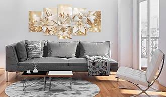 Artgeist home24 Tableau déco Golden Bouquet