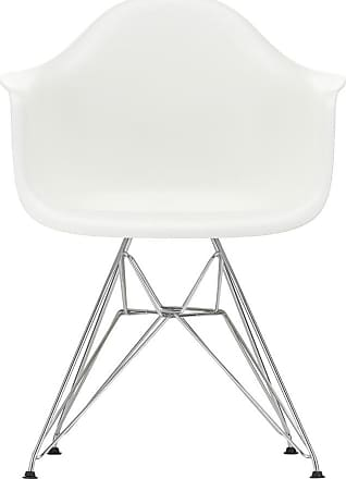 Vitra DAR Plastic Armchair Chrome Base