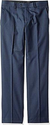 Perry Ellis Mens Slim Fit Suit Separate Pant (Blazer, Pant, and Vest), Blue, 40W x 34L