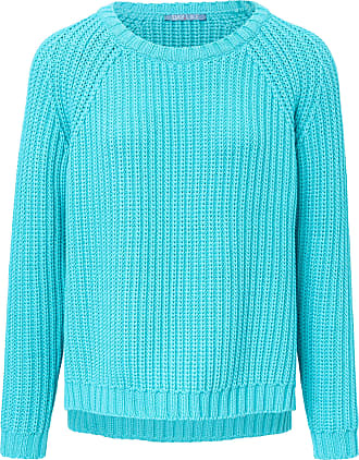 Day Like Round neck jumper long raglan sleeves DAY.LIKE turquoise