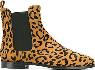 Unützer animal print ankle boots - Brown