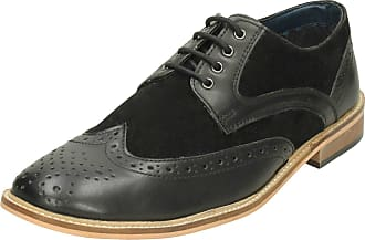 Lambretta Mens Formal Shoes 21004 - Black Synthetic - UK Size 12 - EU Size 46 - US Size 13