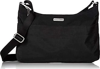 Baggallini RFID Janet Bag, Black/Sand