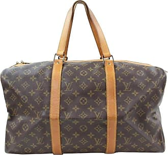 47840d8a7971 Louis Vuitton Sac Souple 45 867150 Brown Coated Canvas Weekend travel Bag