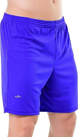 Elite Shorts masculino Elite plus size 38 ao 64 M ao G4 (Azul Royal, EG4 (62-64))