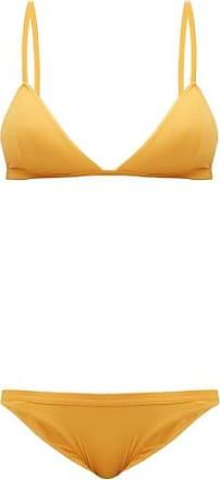 Haight Taping Triangle Bikini - Womens - Yellow